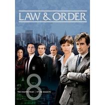 La Ley Y Orden Temporada 8 Importada Serie De Tv En Dvd