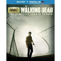 The Walking Dead Temporada 4 Cuatro Serie Blu-ray + Dig Hd