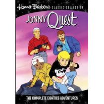 Jonny Quest Eighties Adventures Serie Completa Importada Dvd