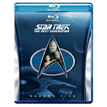 Star Trek The Next Generation Temporada 5 Cinco Importada Bl