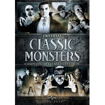 Universal Classic Monsters 30 Film Collection Importada Dvd