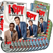 I Spy , Coleccion Completa , Serie Tv Discos Dvd