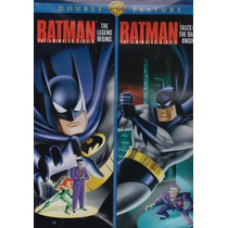 Batman The Legend Begins La Serie Animada Importada En Dvd