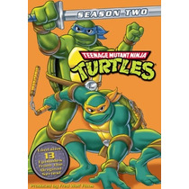 Teenage Mutant Ninja Turtles Vol 2 Animada Importada Dvd
