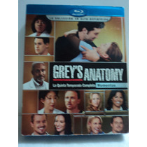 Greys Anatomy La Quinta Temporada Completa En Bluray 7 Disco