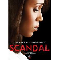 Scandal Temporada 3 Tres Serie Timportada Dvd
