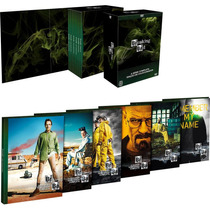 Breaking Bad La Serie Completa Boxset Dvd Original Nuevo