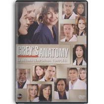 Grey´s Anatomy Paquete Temporadas 1 A La 10 Serie Tv En Dvd
