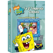 Bob Esponja , Temporada 3 Tres , Serie Tv Discos En Dvd
