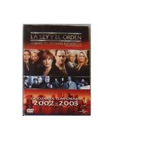 La Ley Y El Orden Uve Temporada 4 , Cuatro Serie Tv En Dvd