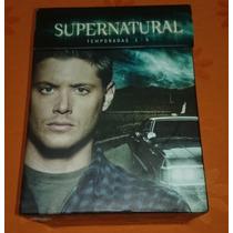 Box Set Supernatural Temporadas 1-5 Dvd.el Precio Mas Bajo!!
