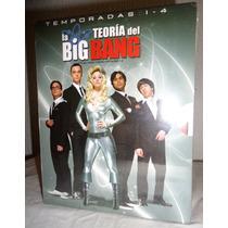 La Teoria Del Big Bang, Boxset: Las 4 Temporadas En Blu-ray
