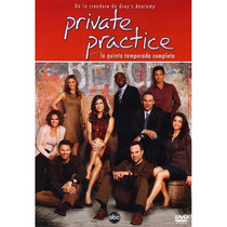 Private Practice, Temporada 5, Cinco Dvd Serie De Tv En Dvd