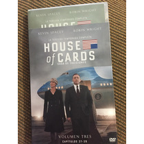 House Ok Cards Netflix Kevin Spacey Robin Wright Vol 3 Dvd
