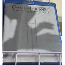 Game Of Thrones Temporada 3, Juego De Tronos, Bluray