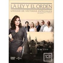 La Ley Y El Orden Uve, Temporada 13 Trece Treceava, Dvd