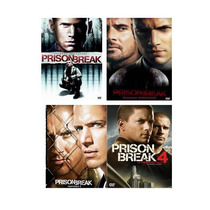 Prision Break, Las 4 Temporadas, Serie De Tv En Formato Dvd.