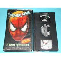 Vhs Spiderman Hombe Araña Serie Animada Pelicula Marvel Esp