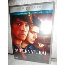 Supernatural Temporada 3, Tres. Serie De Tv En Formato Dvd