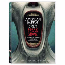 American Horror Story Freakshow Cuarta Temporada 4 Serie Dvd