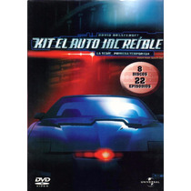 Kit El Auto Increible Primera Temporada 1 Uno , Serie Tv Dvd