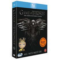 Game Of Thrones Temporada 4 Cuatro Serie Tv Blu-ray + Funko