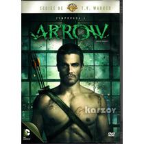 Arrow Temporada 1 Uno, Serie Tv Warner Dc, Oliver Queen, Dvd