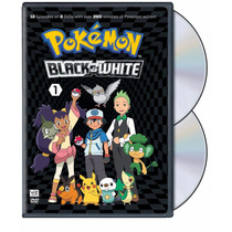 Pokemon Black And White Set 1 Anime En Dvd