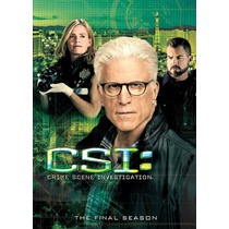 Csi Crime Scene Investigation Temporada Final Importada Dvd