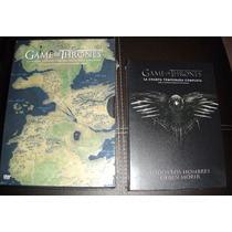 Game Of Thrones Combo Temporadas 1 A 4 Serie En Dvd