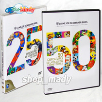 Paq. 25 Caricaturas Dc Comics & 50 Caricaturas Looney Tunes