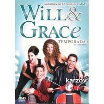 Will & Grace. Paquete Temporadas 1 , 2 , 3 , 4 Serie Tv Dvd