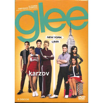 Glee Temporada 4 Cuatro . Serie De Tv En Dvd