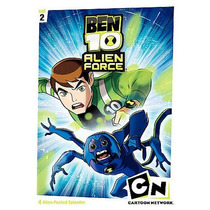 Ben 10 Alien Force: Primera Temporada Vol. 2 Dvd