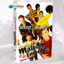 Malcolm El De Enmedio Temp. 2 Español Latino 3dvd Región 1,4