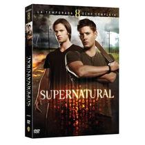 Supernatural Temporada 8 ( Octava ) Serie Warner, Dvd