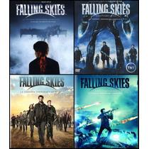 Falling Skies Paquete Temporadas 1 2 3 Y 4 Serie Dvd