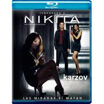 Nikita Temporada 3 Tres . Serie De Tv En Blu - Ray