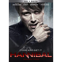 Hannibal , Temporada 3 Tres Serie Tv Preventa Dvd + Digital