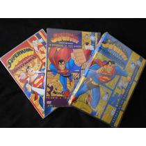 Superman La Serie Animada Completa Dvd Temporadas 1 2 Y 3