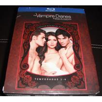 Diarios De Vampiros (vampire Diaries) Temporadas 1-4 Bluray