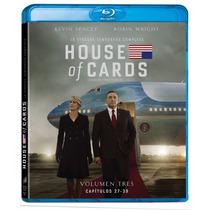House Of Cards Tercera Temporada 3 Tres , Serie Tv Blu-ray