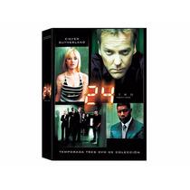 24 Horas Temporada 3 , Tres Serie Tv En Dvd