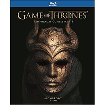 Game Of Thrones Temporadas 1 A 5 Boxset , Serie Tv Blu-ray