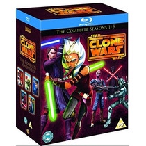Star Wars, The Clone Wars, Guerra De Clones Completa Bluray