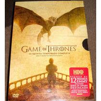Game Of Thrones Juego De Tronos Temporada 5 En Dvd