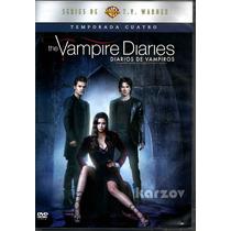 The Vampire Diaries, Diarios De Vampiros, Temporada 4, Dvd