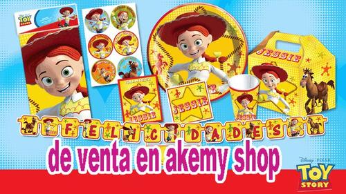 Set De Fiesta Jessie Para 12 Niñas