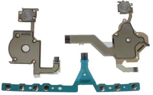 Set De Las 3 Membranas Para Los Botones Del Psp 3000