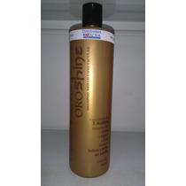 Shampoo Brillo Espectacular Oro Shine Argan, Lino Y Cipero